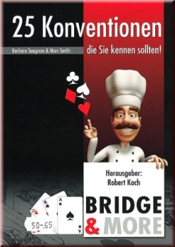 KOCH/SEAGRAM: 25 Bridge-Konventionen